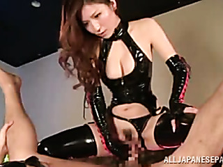 bondage japanese hottie with