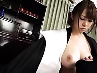 smoking hot asian maid