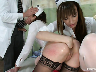 doctor entertains with two