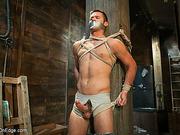 ass, gay, tied, tongue