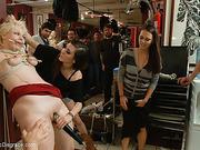 ass, public, rough sex, tattoo