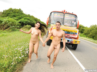 couple get wild
