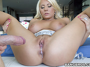 ass, creampie, tittyfuck, white