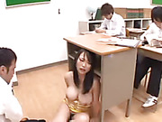classroom, dress, japanese, teacher
