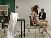 high heels, japanese, slim, white