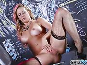 blonde, hd porn, stockings, teacher