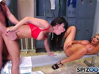 two nasty ladies sharing