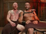 ass, gay, tied, worship