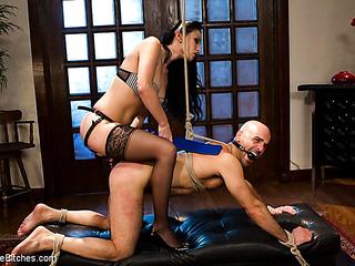 slutty maid plays dirty