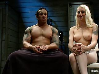 dominatrix white pantyhose penetrated