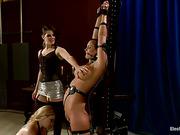 ass, femdom, strap-on, video
