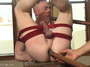 ass, gay, pre-cum, teasing
