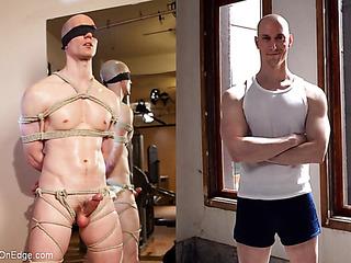 bald pale-skinned athlete needs