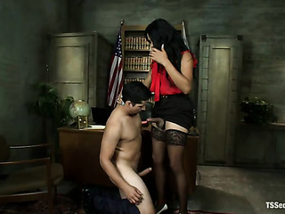 seductive tranny gets wishes