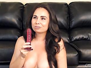 big breasted latino strips