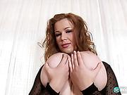 big tits, dick, legs, spreading