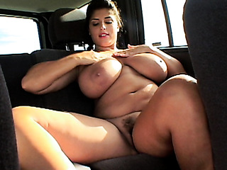 hitchhiking busty girls gets
