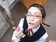 babe, face, japanese, nerdy