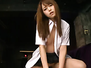sweet asian with perky