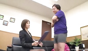 horny japanese office lady