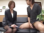 babe, japanese, office