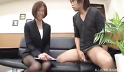 glorious japanese office babe