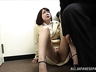 nice mature office lady