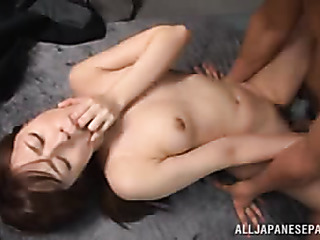 gorgeous japanese office chick