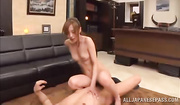 naughty chick strokes guy