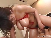 busty, japanese, lingerie, office
