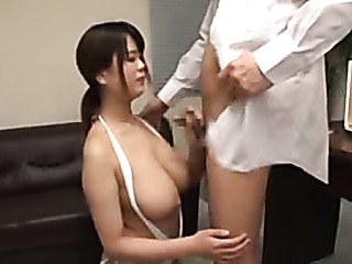 naughty office girl undresses