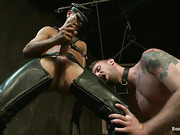 bondage, gay, tied up, tight