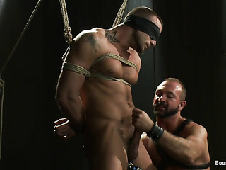 gagged and bound hunk