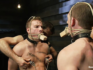 two bound and gagged