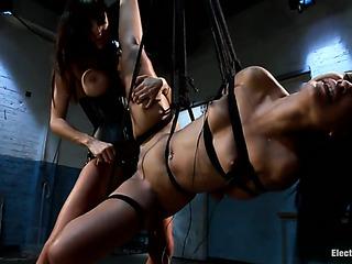 black pornstar bondage gets