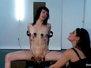 ass, femdom, tied up, wet