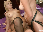 ass, rough sex, thick, threesome