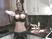 anal, busty, housewife, individual model