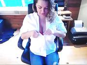 big tits, blonde, close up