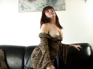 seductive lady heels teases