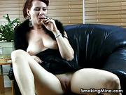 cigarette, individual model, lady