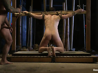 this gay gets bound