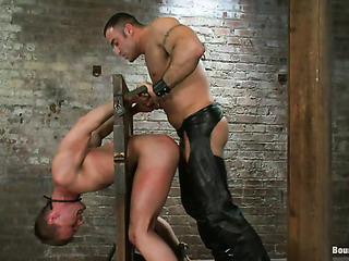 naked stud gets punished
