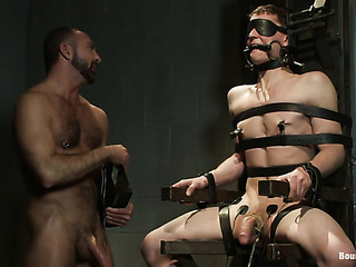 chained and suspended twink