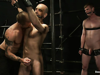 gagged and blindfolded gay