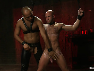 black master jeering his