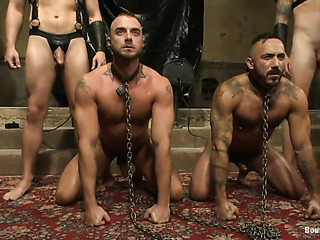 two bdsm masters rubber