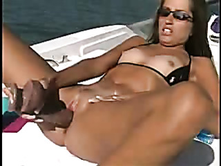 steaming hot chick with