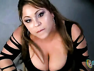 latina with huge melons