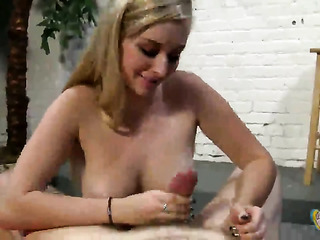 bust blond with sexy